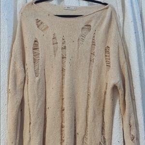 Cut Sweater Too